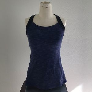 Lucy Power Yoga Tank Top Blue Size Small